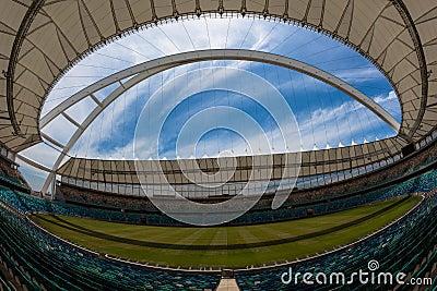 Football Soccer Stadium Amphitheater. Editorial Stock Image