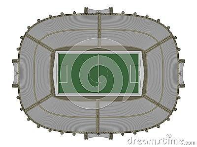 Football Soccer Stadium Vector 12