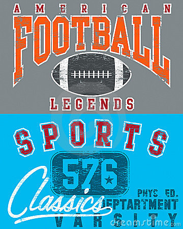Football and sports designs
