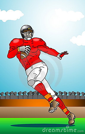 Football Sports Illustration
