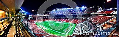 Football Stadium During Night Free Public Domain Cc0 Image