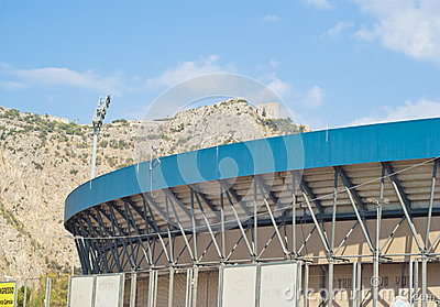 Football stadium in Palermo