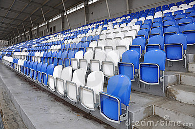Football stands