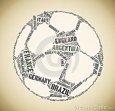 Football tagcloud