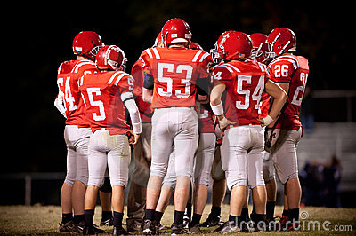 Football Team Editorial Photography