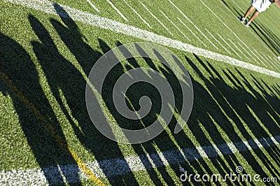 Football Team Shadows