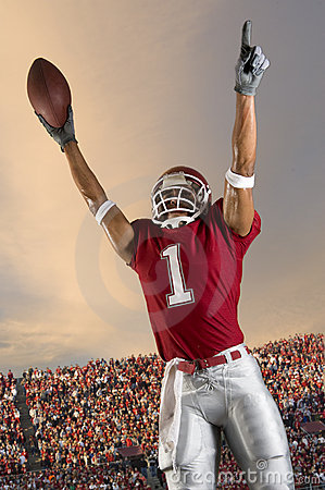 Free Football Victory Royalty Free Stock Image - 10370376