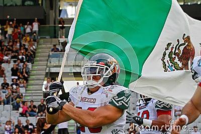 Football WC 2011: Germany vs. Mexico Editorial Photography