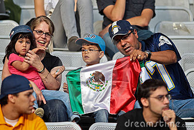 Football WC 2011: Germany vs. Mexico Editorial Stock Photo