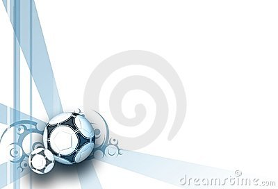 Football white  blue elegance background