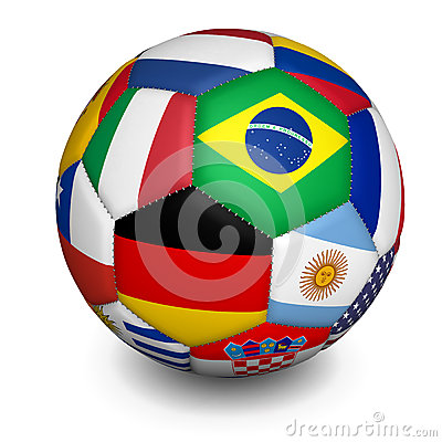 Football World Cup Soccer Ball