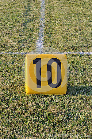Football 10 Yard Marker