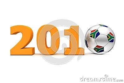 Football Year South Africa 2010 - Orange