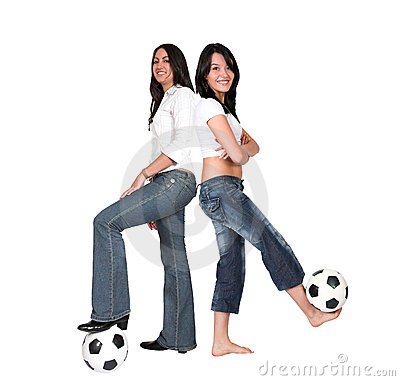 Footballer girls