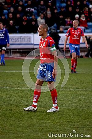 Footballer Henrik Larsson Editorial Image