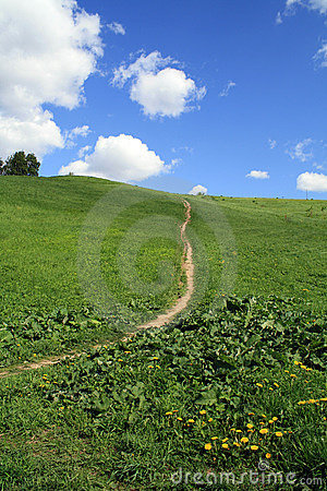 Footpath to heaven