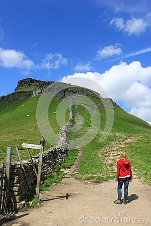 Footpath to Pen-y-ghent, North Yorkshire