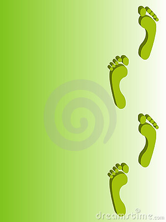 Footprint backgrounds