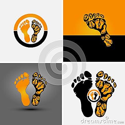 Footprint symbol