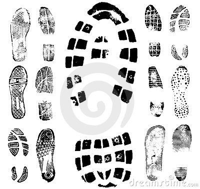 Free Footprint Traces Collection 2 Stock Image - 6925021