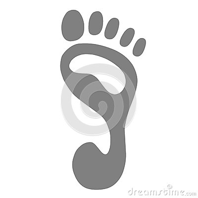 Footprint vector Vector Illustration