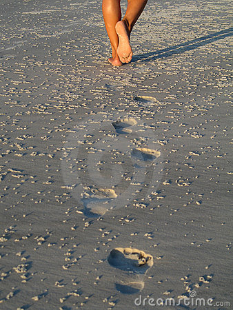 Free Footprints Stock Images - 1354064