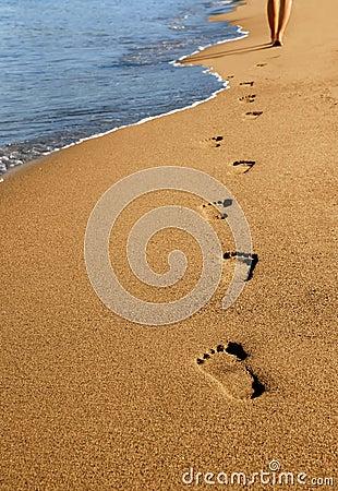 Free Footprints Stock Photo - 5851890