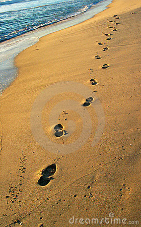 Free Footprints Royalty Free Stock Photos - 86828