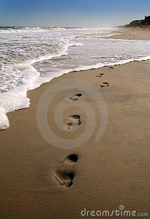 Footprints in the sand II