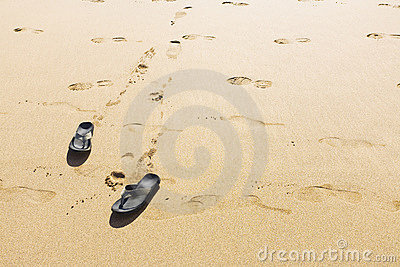 Footprints and Shoes