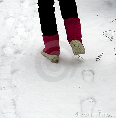 Free Footsteps Stock Images - 12384014