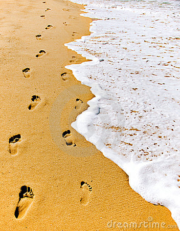 Footsteps, Laguna Beach, 2008