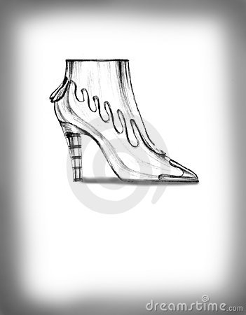 Footwear feminine