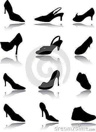 Footwear a set
