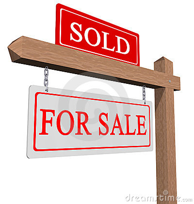 Free For Sale And Sold Sign Stock Photos - 17282033