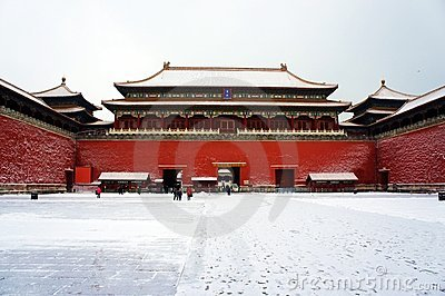 Forbidden city Editorial Image