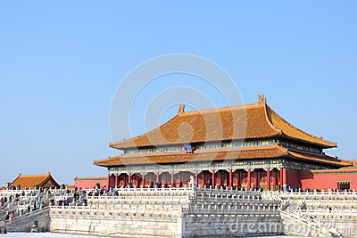 Forbidden city Editorial Stock Photo