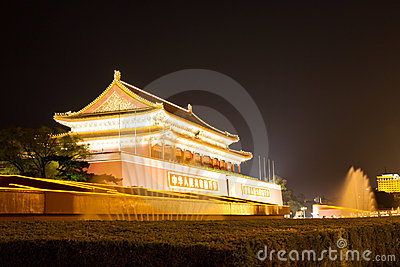 Forbidden city of Beijing