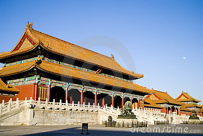 Forbidden city in Beijing,China