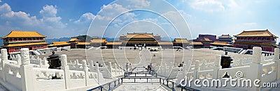Forbidden City in Beijing Editorial Photography