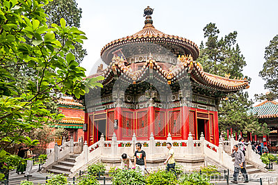 Forbidden City Complex Editorial Photo