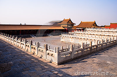 The forbidden city inside square