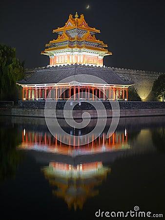 Free Forbidden City Night Scenes Stock Photos - 21445503