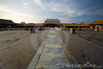 Forbidden City Palace Of Heavenly Purity