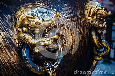 The Forbidden City Tongding lion