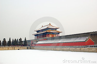 Forbidden city turret