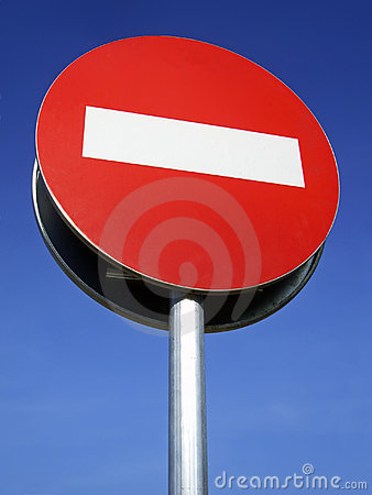 Free Forbidden Sign Royalty Free Stock Images - 4416819