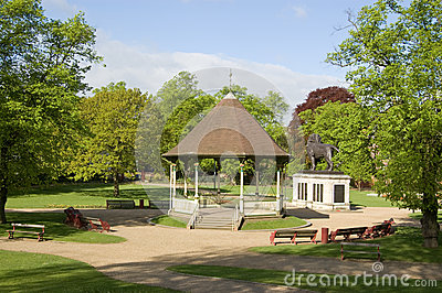Forbury Gardens, Reading, Berkshire