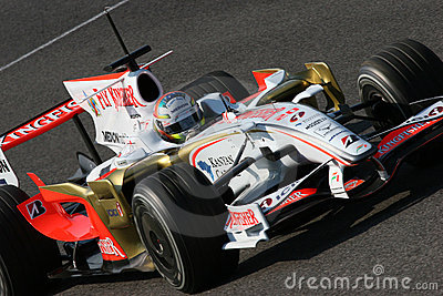 Force india f1 Editorial Stock Photo