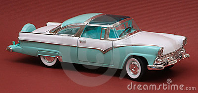 Ford 1955 Fairlane Crown Victoria
